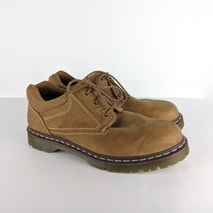 Dr Martens Docs Mens 14 Brown Leather Shoes Oxford